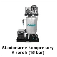 Stacionárne kompresory Airprofi (15 bar)