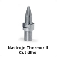Nástroje Thermdrill Cut dlhé