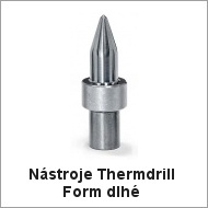 Nástroje Thermdrill Form dlhé
