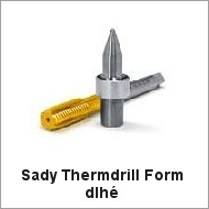 Sady Thermdrill Form dlhé
